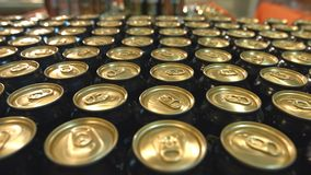 Bier in supermarkt stock videobeelden