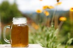 Bier und Natur Stockfotografie
