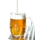 Bier van het vat Royalty-vrije Stock Fotografie