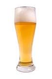 Bier; Voorwerpen op witte achtergrond Stock Fotografie