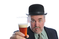 Bier-Zeit Stockfoto