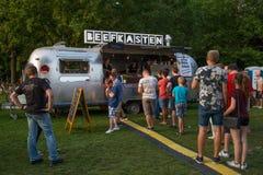 Bierbörse 26 8 2017年卡尔斯鲁厄节日 免版税库存图片