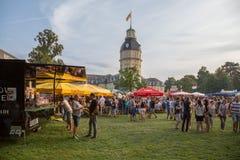 Bierbörse 26 8 2017年卡尔斯鲁厄节日 图库摄影