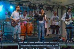 Bierbörse 26 8 Karlsruhe festival 2017 Fotografering för Bildbyråer