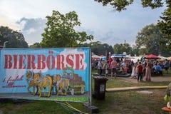 Bierboerse 26.8.2017 Karlsruhe Festival Stock Photography