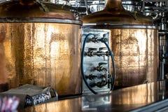 Bierbrouwerij Royalty-vrije Stock Foto's