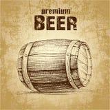 Bierfaß mit lizenzfreie abbildung
