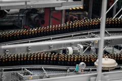 Bierfabrikinnenraum Lizenzfreies Stockbild