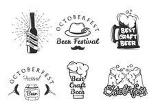Bierfestival Oktoberfest-Satz Stockbilder