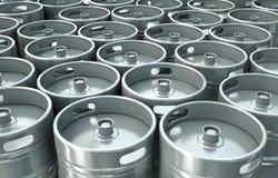 Bierfässer Stockfoto