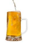 Biergießen Lizenzfreie Stockfotografie