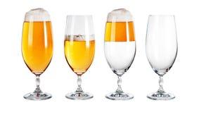 Biergläser Stockbild