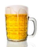 Bierglas stock afbeelding