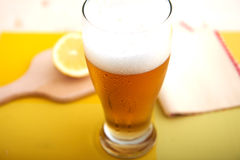 Bierglas Lizenzfreies Stockbild