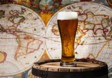 Bierglas bier Stock Foto's