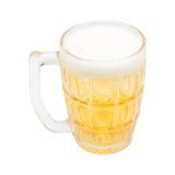 Bierglazen Klaar te drinken stock foto's