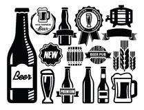 Bierikone Stockfoto