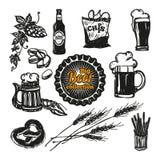 Bierikonen eingestellt lizenzfreie abbildung
