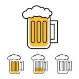 Bierkrug Lizenzfreies Stockbild