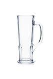 Bierkrug auf Weiß Stockfoto