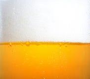 Bierluftblasen Stockfoto