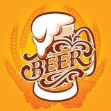 Biermenu stock illustratie