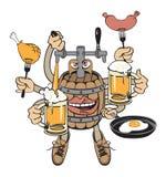 Biermonster Lizenzfreie Abbildung