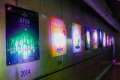 Biermuseum Amsterdams Heineken lizenzfreie stockfotos