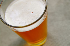 Bieroberseite Lizenzfreies Stockfoto