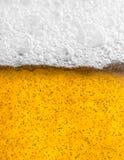 Bierschaum Lizenzfreies Stockfoto