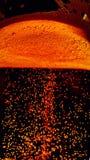 Bierschaum und -blasen Stockbilder