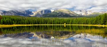 Bierstadt jezioro Fotografia Royalty Free