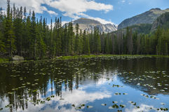 Bierstadt Lake Colorado Stock Photo