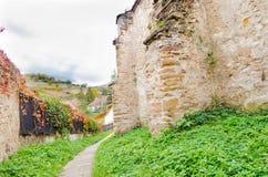 Biertan fortificó la iglesia imágenes de archivo libres de regalías