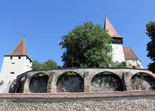 Biertan fortified church Stock Photography