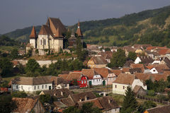 Biertan Fortified Church. UNESCO World Heritage monument in Romania Royalty Free Stock Images