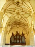 Biertan fortified church medieval transylvania interior architecture beautiful building cathedral ceiling gothic indoor god romani Royalty Free Stock Photos
