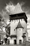 Biertan fortified church tower Royalty Free Stock Photo