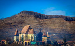 Biertan fortified church 2. Biertan fortified church in Transylvania Royalty Free Stock Images