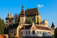 Biertan Fortified Church, Transylvania - Biserica Fortificata Biertan Stock Photo