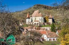 Biertan fortified church, Transylvania Royalty Free Stock Photo