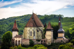 Biertan, Fortified church, Transylvania, Romania Royalty Free Stock Photo