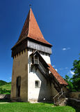 Biertan fortress tower in Transylvania Stock Photos