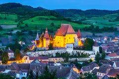 Biertan, Roemenië royalty-vrije stock afbeeldingen