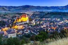 Biertan, Romania fotografia stock libera da diritti
