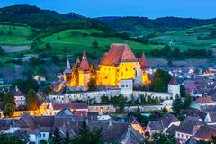 biertan Romania obrazy royalty free