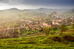 Biertan. Sibiu county, Romania, Europe is one of the most important Saxon villages. Unesco World Heritage Royalty Free Stock Photo