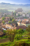 Biertan, Transylvania. Biertan is one of the most important Saxon villages with fortified churches in Transylvania, having been on the list of UNESCO World Stock Photography