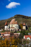 Biertan village and fortified Church in Transylvania, Romania Royalty Free Stock Photo