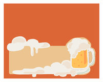 Biervektor Lizenzfreie Stockfotos
